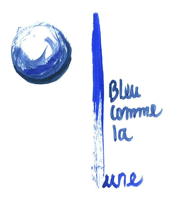 Concert partagé : Bleu comme la lune invité par le choeur d'hommes de Dombresson